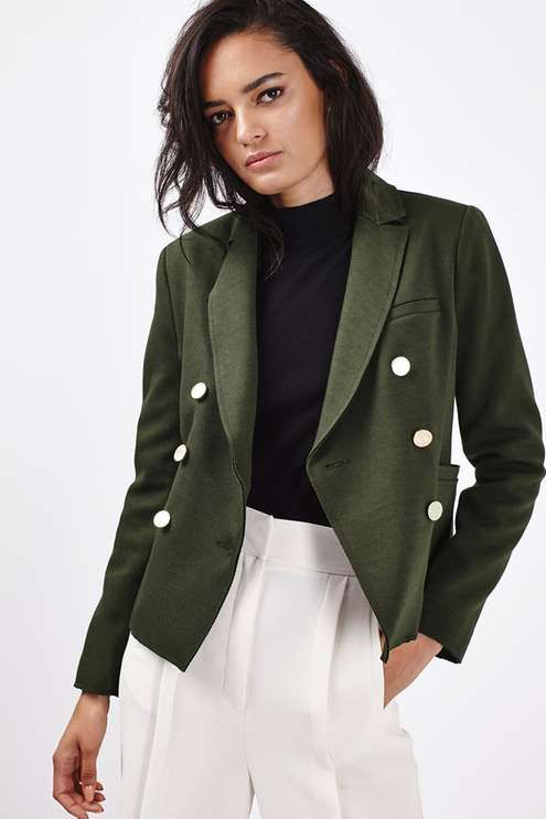 Gold Button Jacket - New In This Week - New In - Topshop