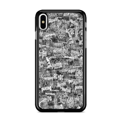All Heavy Metal Bands Logo Iphone Xs Max Case Miloscase Metal Band Logos Heavy Metal Bands Metal Bands