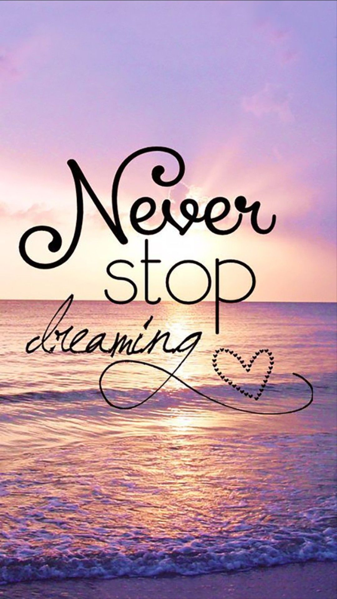 HD Quote Wallpaper Quotes Wallpapers Life quote never stop dreaming