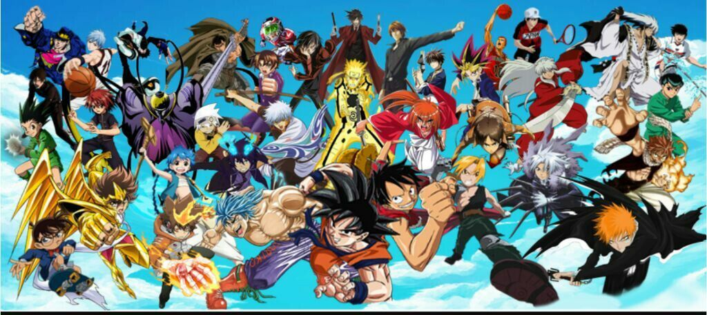 Anime Crossover Wallpaper