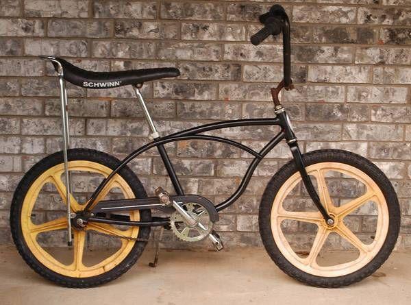 07154ae4c3c 1977 Schwinn Scrambler - BMXmuseum.com | Old school bicycles | Bmx ...