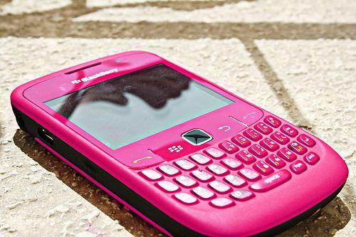 Pink BlackBerry