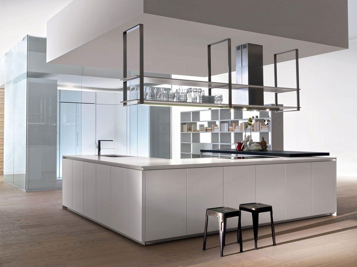 cucina con isola senza maniglie hi-line 6/hi-line by dada   design ... - Cucina On Line