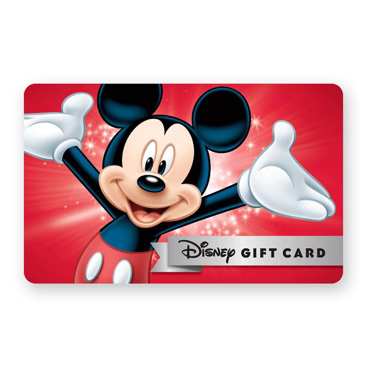Disney Gift Card Egift  Wishlist
