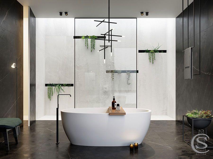 Bagno moderno: 60 idee di arredo originali bagni di design