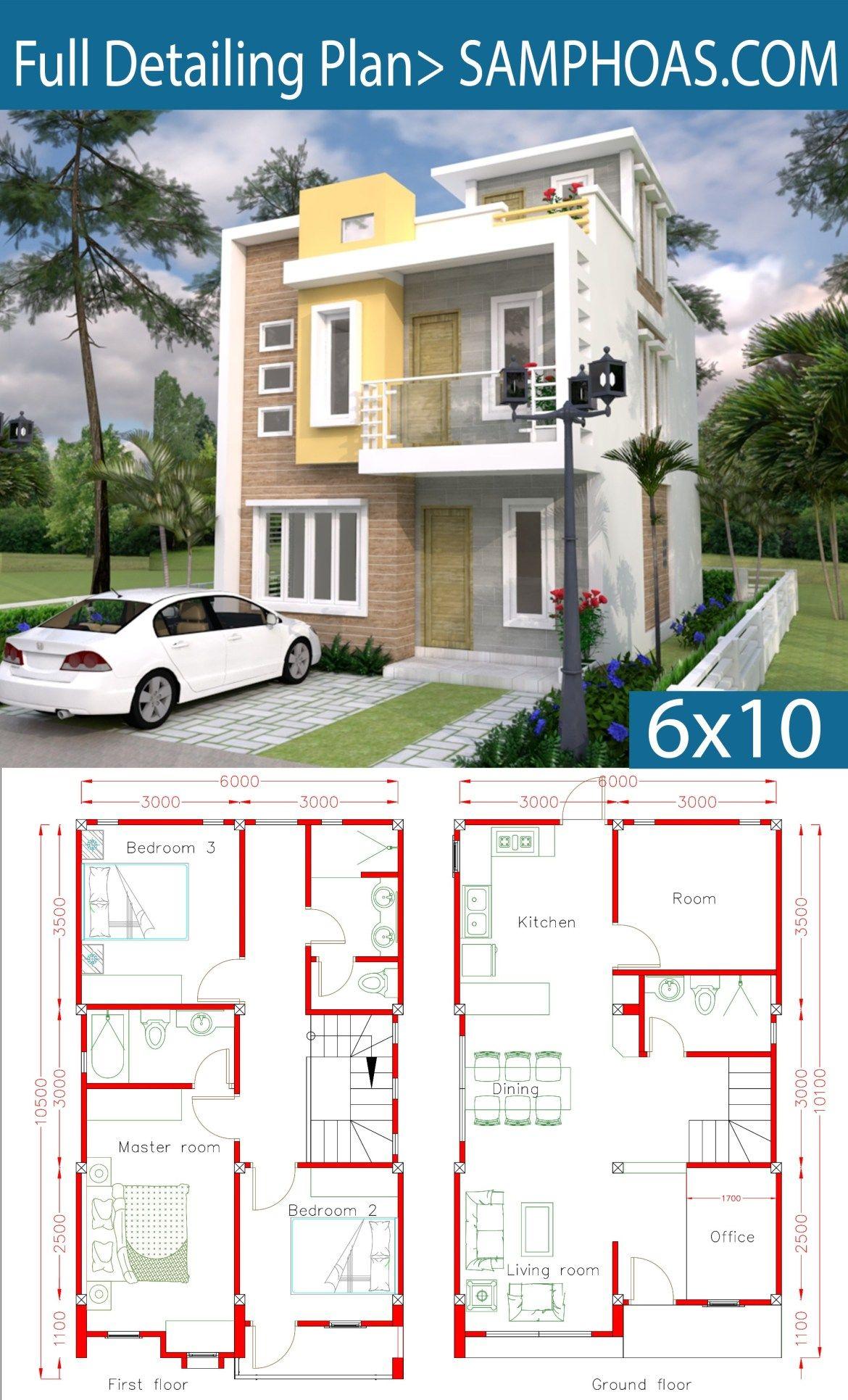 23 Planos de fachadas de casas pequenas