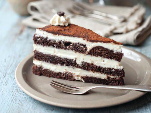 Cappuccino Cream Chocolate Cake | Cookstr.com