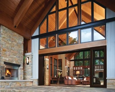 Marvin Family Of Brands Showcases Best In Contemporary Design At International Builders Show In Las Vegas Exterior Doors With Glass Marvin Doors Windows And Doors