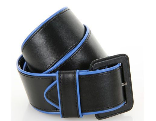 black with blue piping leather gloves - Google Search