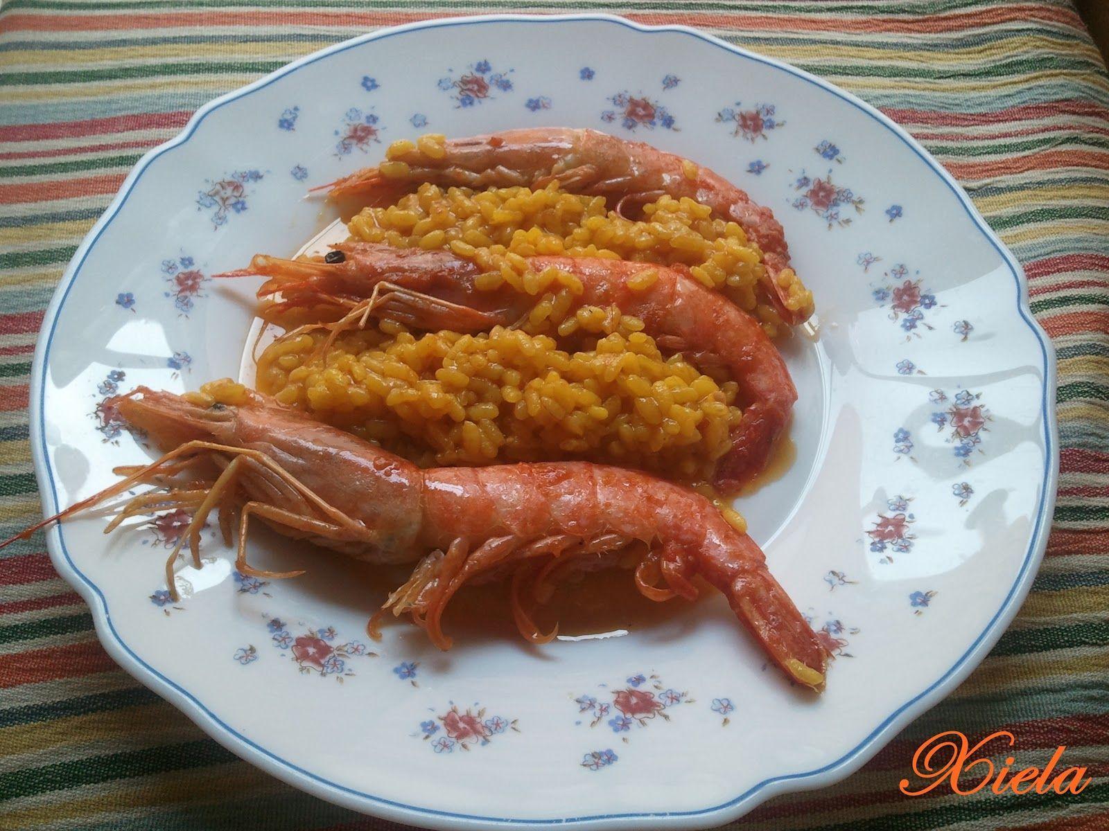 XielaMar, la mar de salada: Arroz con gambas 3 personas (LèKuè ...