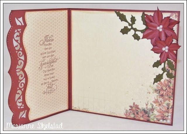 Mariannes papirverden.: Julekort - Pion Design