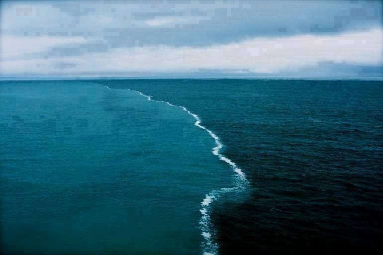 cape point south africa where two oceans meet and dont mix