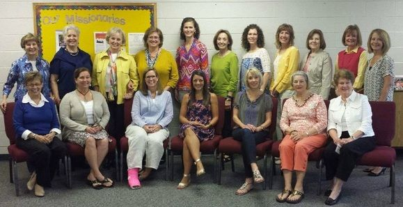 Leaders Of Disciplers Group At Cedar Spring Presbyterian Church In