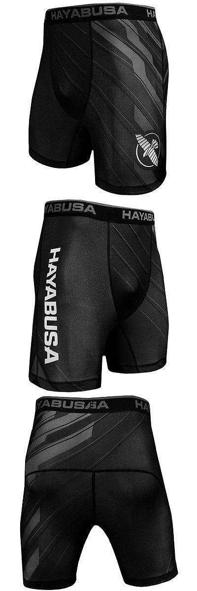 HAYABUSA Metaru Charged Fight Shorts Black