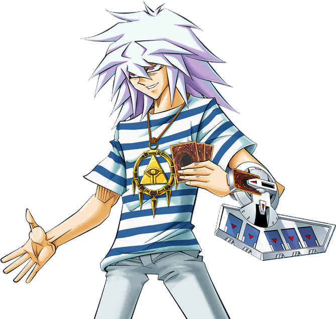 Yami Bakura Render Ygo Online By Maxiuchiha22 Yugioh Bakura Ryou Anime Characters