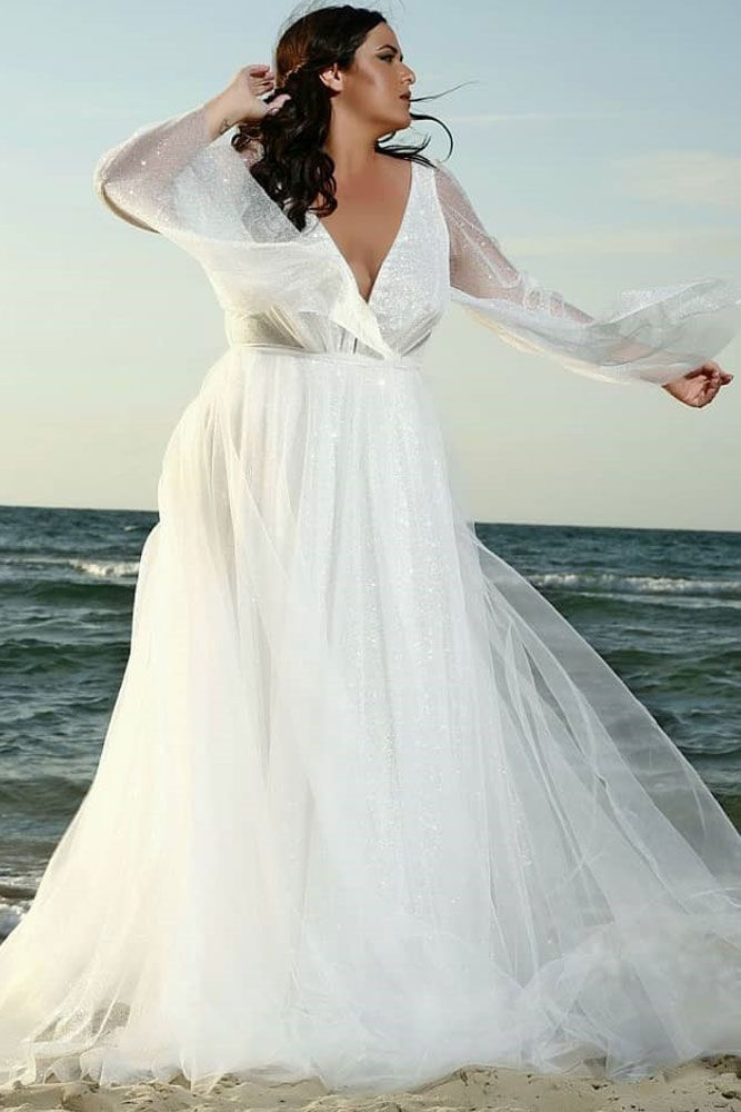 Plus Size Wedding Dresses For The Most Beautiful And Curvy Brides Plus Wedding Dresses Plus Size Wedding Dresses With Sleeves Wedding Dresses Vintage Bohemian