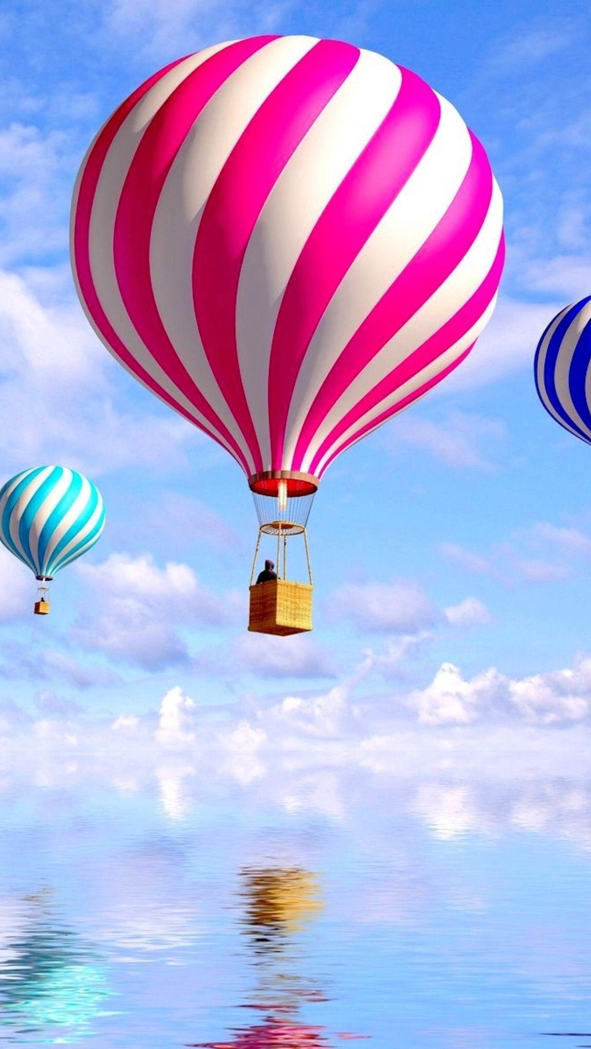 Hd Iphone Wallpaper Hot Air Balloon