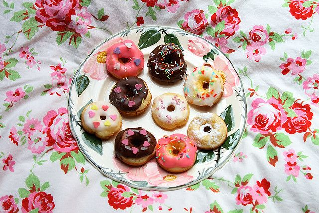 cute mini doughnuts
