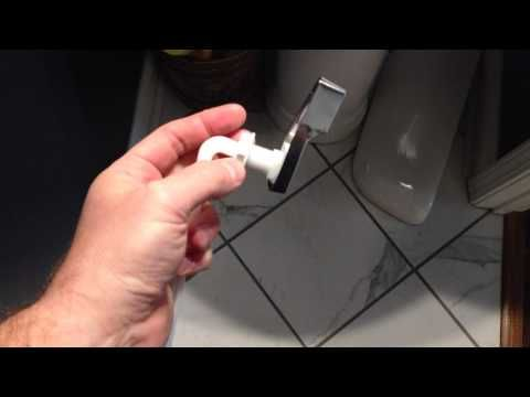 How To Replace Toilet Handle This Is A Diy Toilet Handle Repair