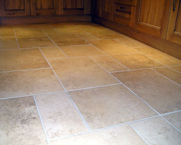 Love our cerdomus floor tiles in our kitchen for a for Country kitchen flooring