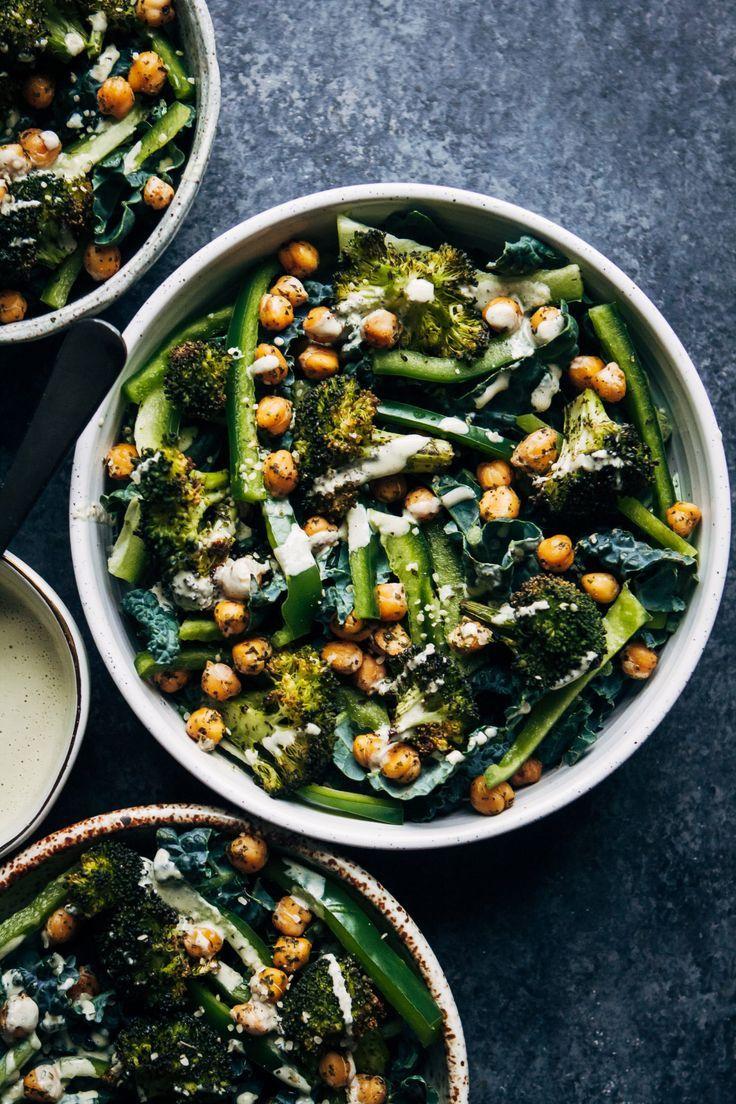 Vegan Kale Detox Salad