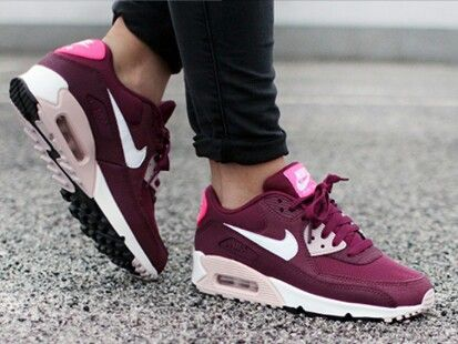 buy popular 606d7 213ab Nike Air Max 90 Essential Villain red  Champagne pink