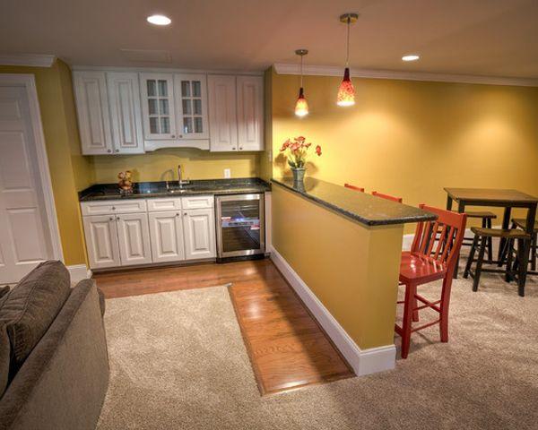 33 inspiring basement remodeling ideas basement remodel for Country basement ideas