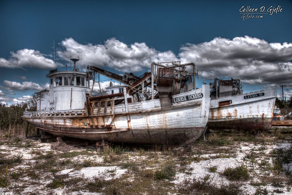 Norris Auto Group >> Dry docked boats in Port Norris NJ | Abandoned ships, Old ...