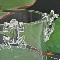 Frog  manufactured at Hergiswiler Glas AG, Hergiswil, Switzerland