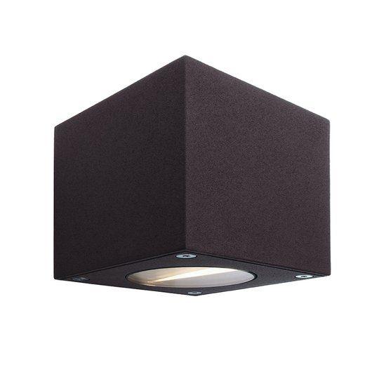 Zoomoi Cubodo - Buiten Wandlamp - Aluminium - LED - antraciet