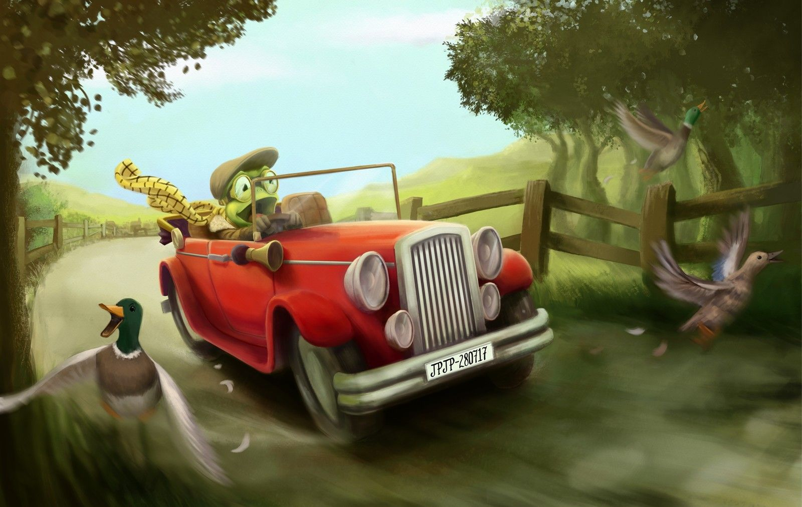 Mr Toad S Wild Ride Tom Parrish On Artstation At S