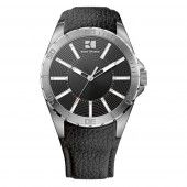 Hugo Boss Orange Herren Uhr Armbanduhr Leder 1512864