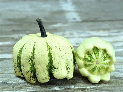 HEIRLOOM VEGETABLE SEEDS! 10+ Seeds Pattypan Squash Panaché Patisson
