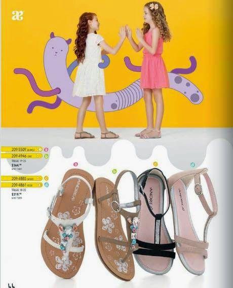 Andrea Kids Zapatos Para Ninas Primavera 2015 Andrea Zapatos Para Ninas Sandalias Para Ninas Zapatos