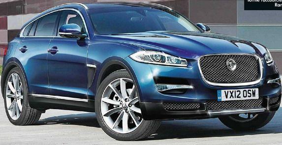 Jaguar Suv New Render