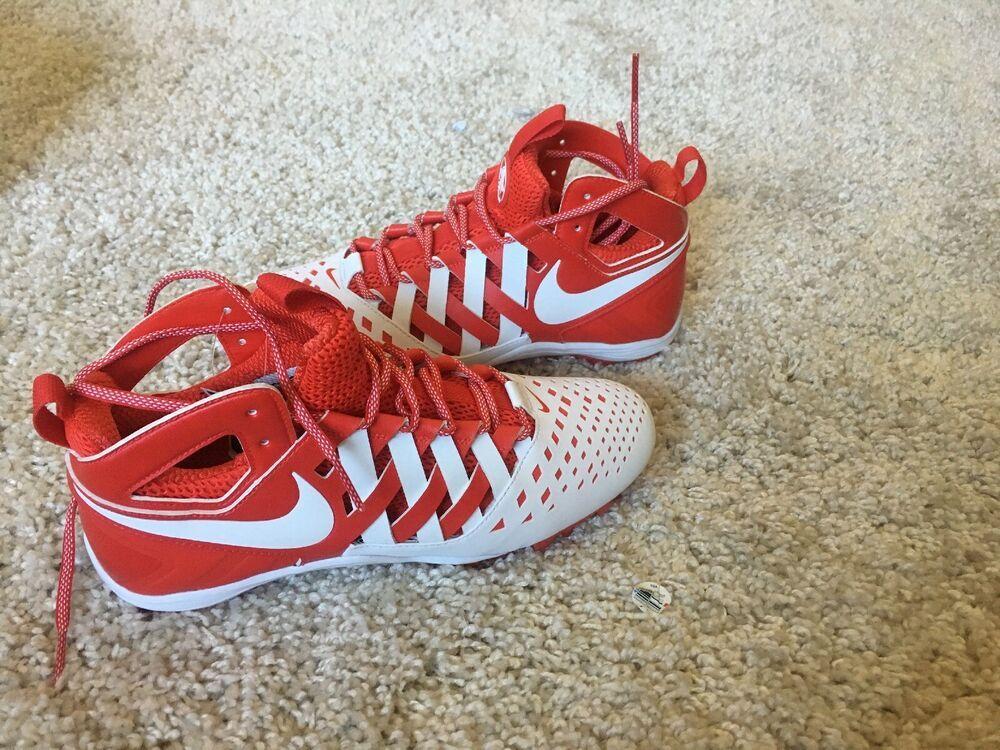 competitive price b8aa8 7f4d4 Advertisement(eBay) Nike Huarache 5 Elite Men s Lacrosse Football Cleats  807142-611 Size