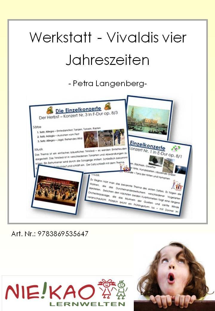 Werkstatt - Vivaldis vier Jahreszeiten   Unterrichtsmaterial   Pinterest