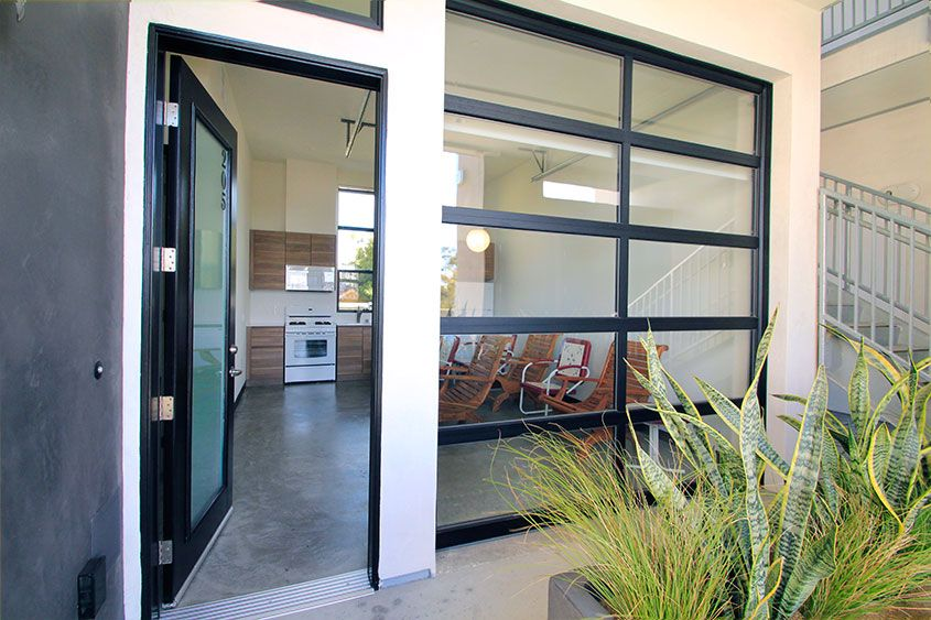 Glass Garage Doors Unique Garage Spaces Pinterest Glass Garage