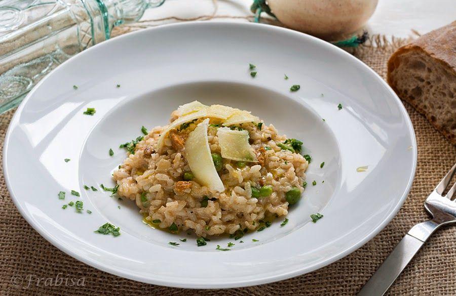 La cocina de Frabisa: Risotto de Erizos de Mar y Guisantes Frescos. COCINA GALLEGA http://lacocinadefrabisa.blogspot.com.es/2014/04/risotto-de-erizos-de-mar-y-guisantes.html