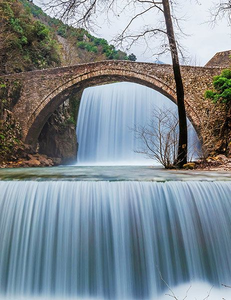 Beautiful Views of Waterfalls from 14 Bridges Around the World #beautifulviews