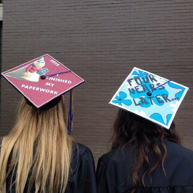 30 Adorable Grad Caps For Best Friends Bucket List