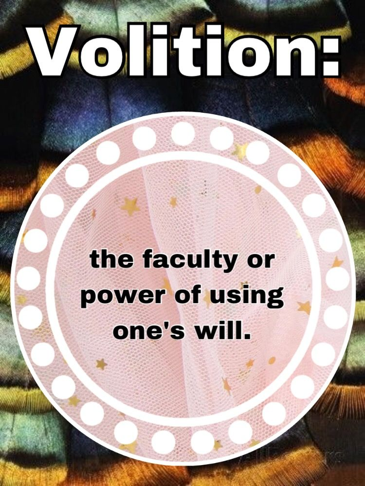freetoedit  meaning  volition  volitionmeaning  definitions Volition means  the faculty or power of using one s will. fcc5fe9d8