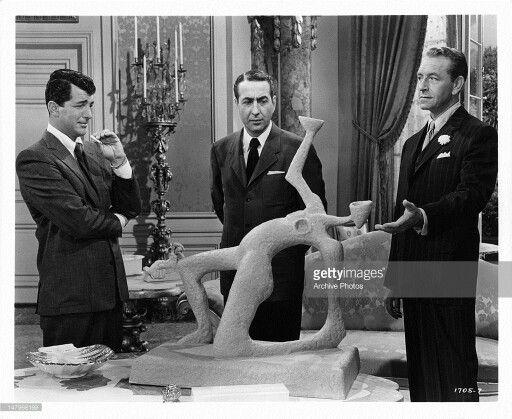 Ten Thousand Bedrooms 1957 Dean Martin Paul Henreid Statue