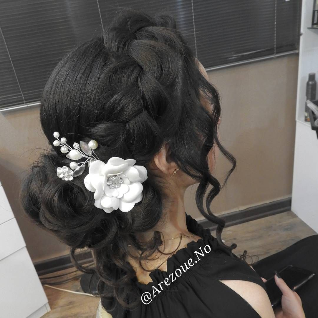 Updo hairstyles for prom wedding or etc dream wedding