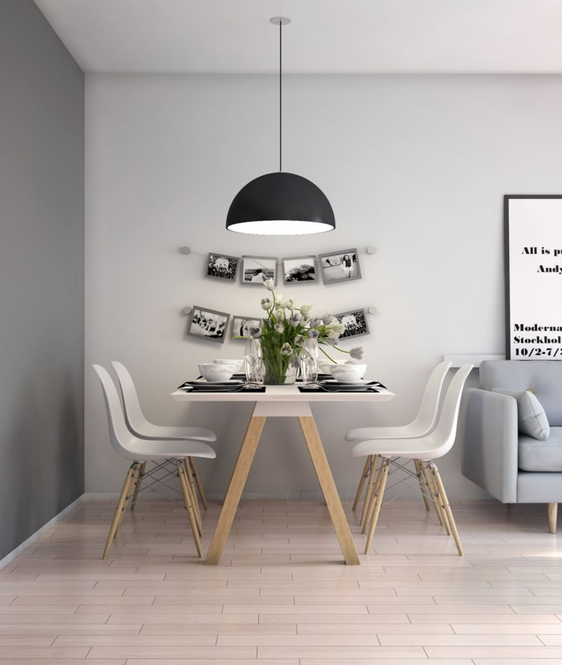 Small Apartment Design With Scandinavian Style That Looks: 59 Inspiring Scandinavian Dining Room Design For Small