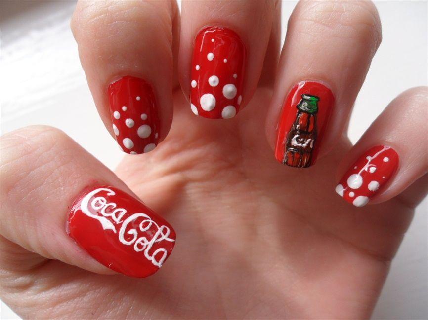 Soooo neat   Nail designs   Pinterest   Cola, Coca Cola and Nail art ...