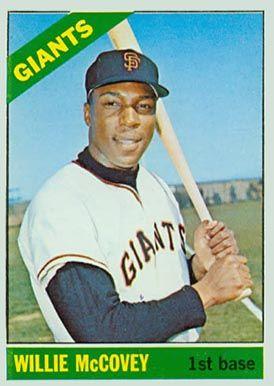 Topps Baseball Cards Mccovey Set Name 1966 Topps Card
