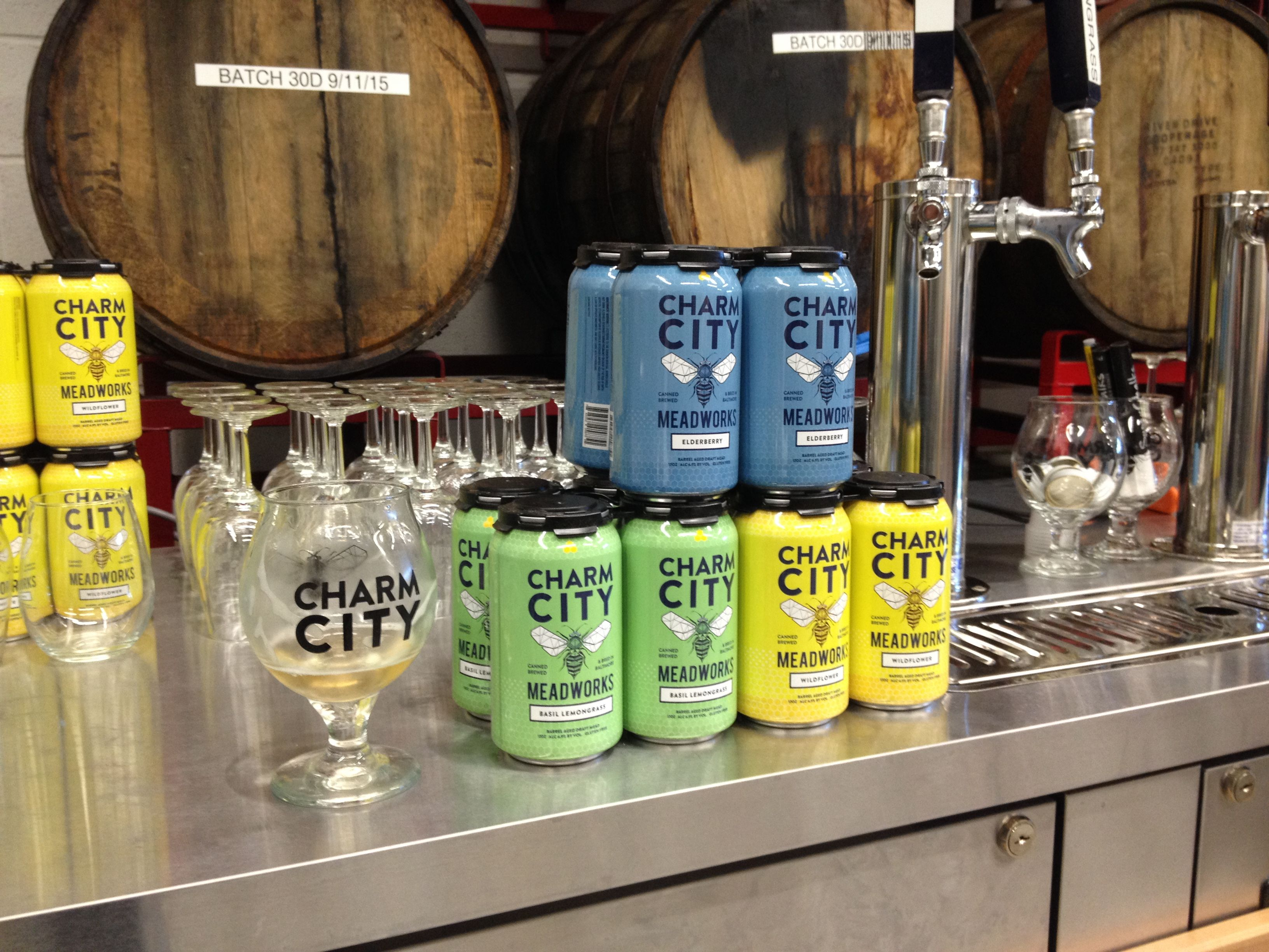 The good nature and passion of the crew at Charm City Meadworks, have been working their tails off to make mead as ubiquitous in Baltimore as any beer or wine. #alcohol #bees #charmcitymead