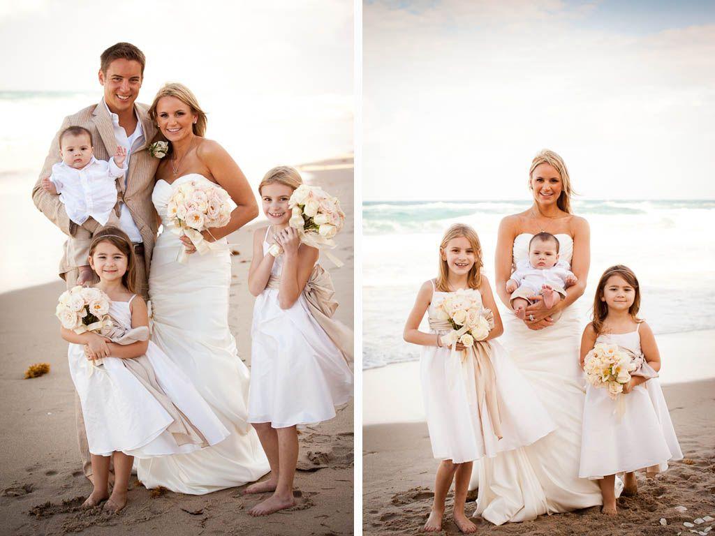 West Palm Beach Ritz Carlton Vow Renewal Amy Nathan Kids