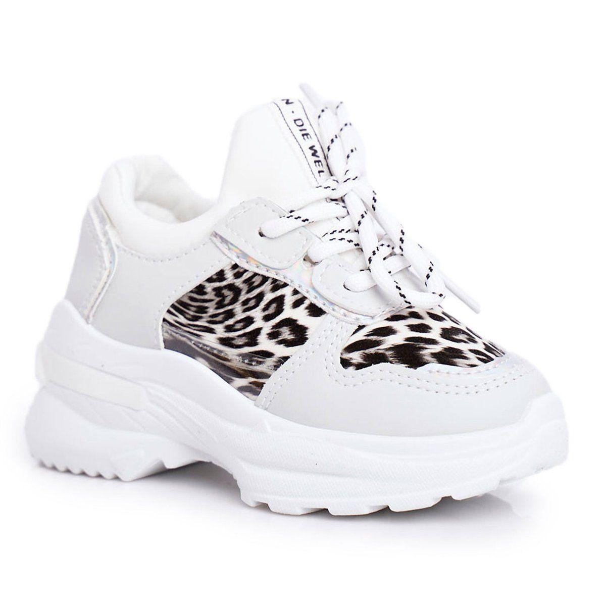 Frrock Obuwie Sportowe Dzieciece W Panterke Biale Penny Sneakers Nike Shoes Air Max Sneakers